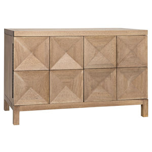 Quadrant Sideboard Walnut washed walnut finish Noir furniture griege design shop and interiors