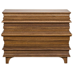 Bernard Chest Dark Walnut finish greige design shop + interiors
