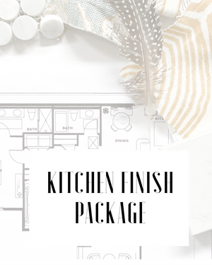Kitchen Finish Package- E.Design