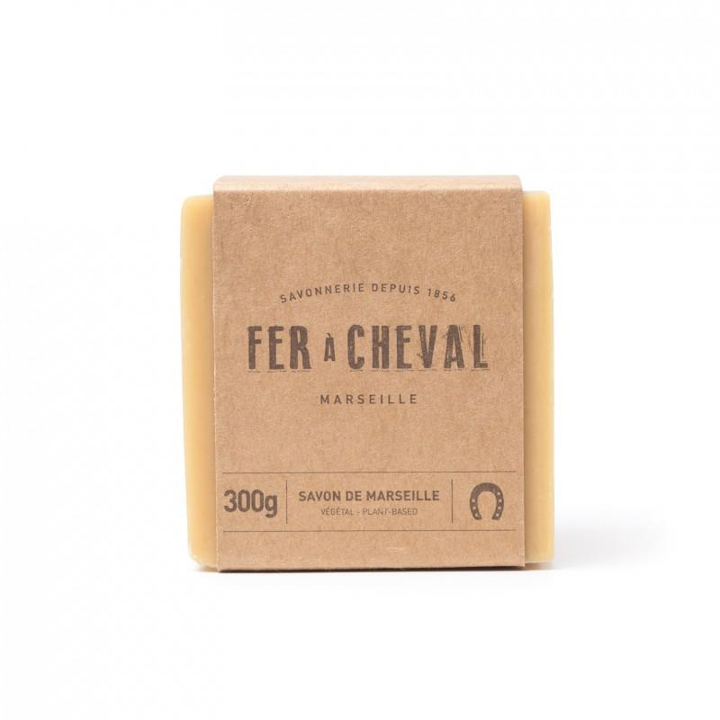 Fer à Cheval Soap greige design shop apothecary French Marseille soap  square soap