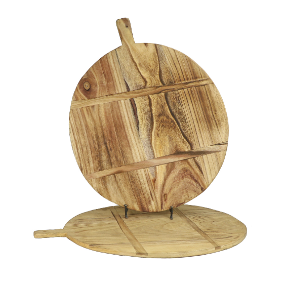 Oliver Large Round Bread Board