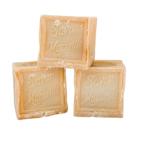 Authentic French Marseille Rustic Cube Soap -300g