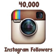 40,000 Instagram followers and counting...