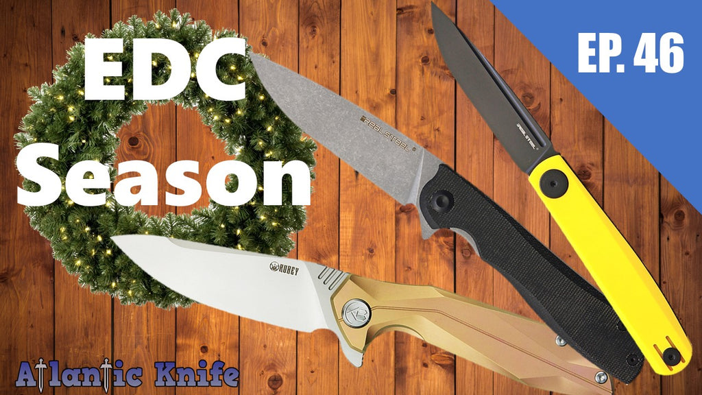 New Real Steel Kubey & Bestch Folding & Slip Joint Knives | AK Blade EP 46 EDC Knife Season GIVEAWAY