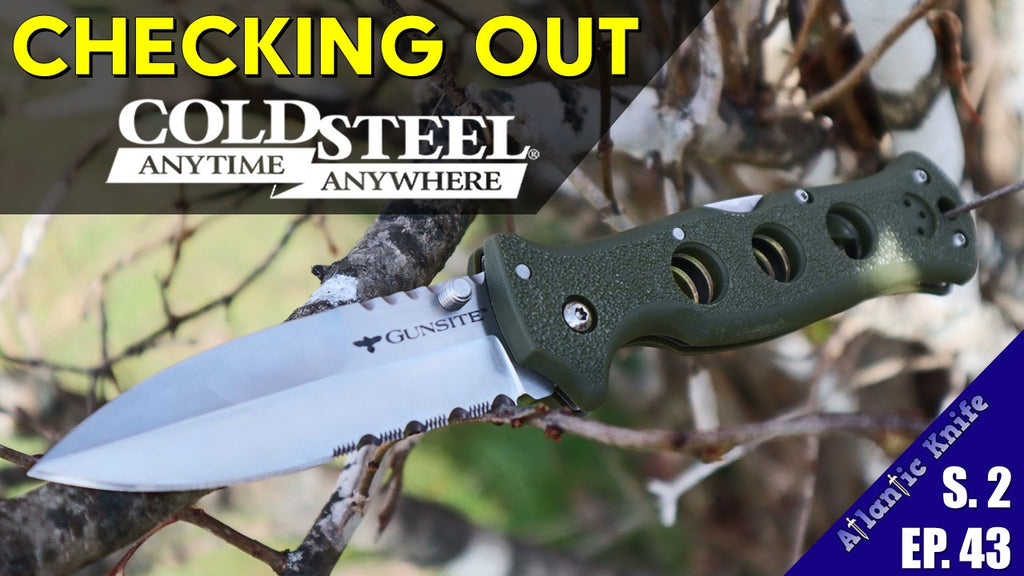 Top 3 Best Folding Knives & 1 Fixed Blade from Cold Steel & We Knife | Spyderco Giveaway