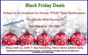 "Huge Black Fiday Knife sale ""Deal an Hour"""