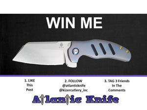 Kizer Sheepdog Giveaway Winner announced on National Knife Day