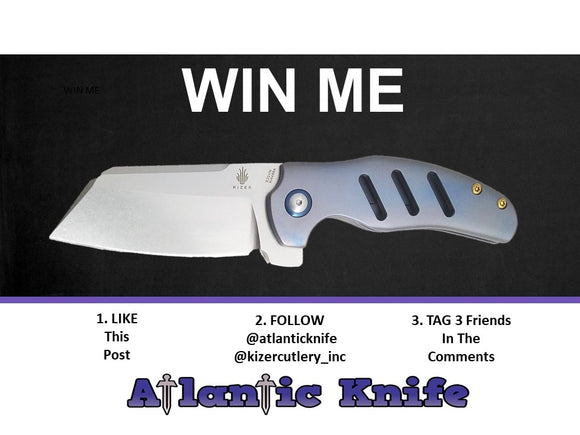 kizer knife giveaway instagram