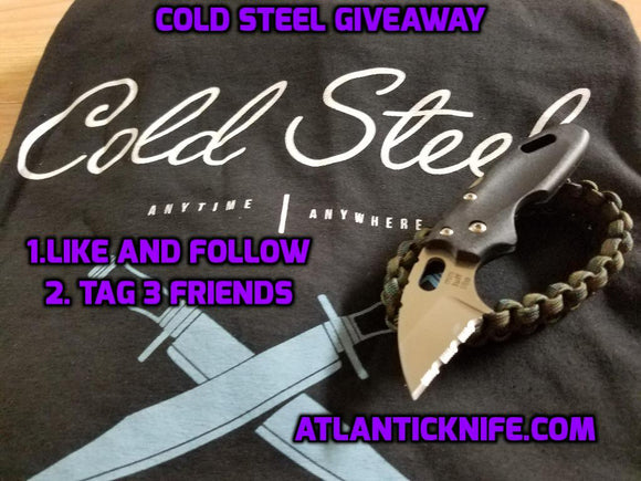 Cold Steel gift pack giveaway winner announced