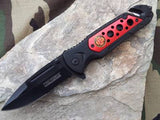 TAC FORCE SPRING ASSISTED FIRE DEPT RESCUE KNIFE FD - 637fd