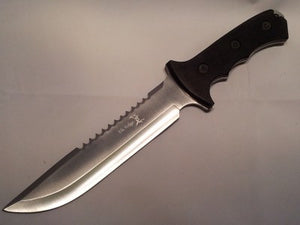 "Elk Ridge Sawback Hunter Bowie 12 1/4"" Knife 082"