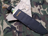 "Schrade Uncle Henry 15 1/4"" Delrin StagmBowie Hunter Knife Full Tang - 181UH"