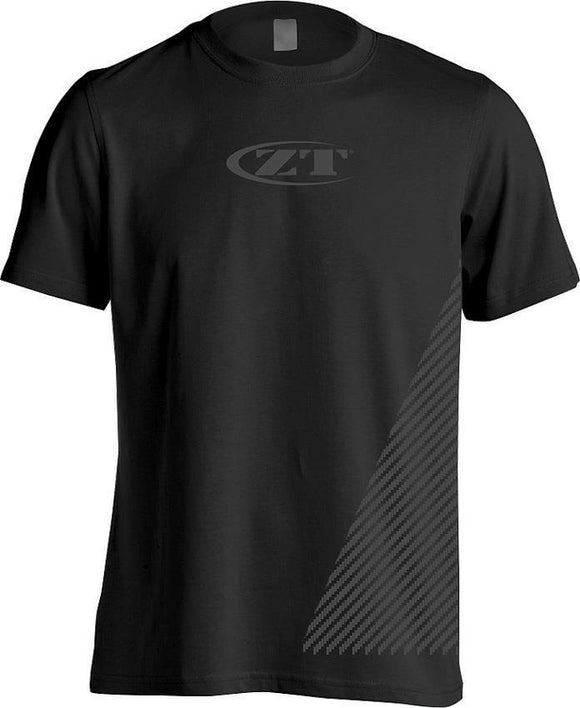 Zero Tolerance Logo Black & Gray Tactical Men's Short Sleeve T-Shirt