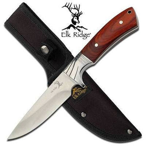"Elk Ridge 9"" Hunter Knife Brown - 148"