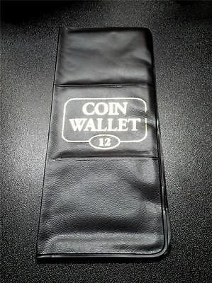 12 Pocket Coin Wallet Album by H.E. Harris with 2x2 Slots