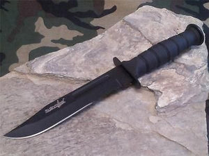 "Survivor Fixed 7.5"" Knife w/ Combo Edge HK1023DP"