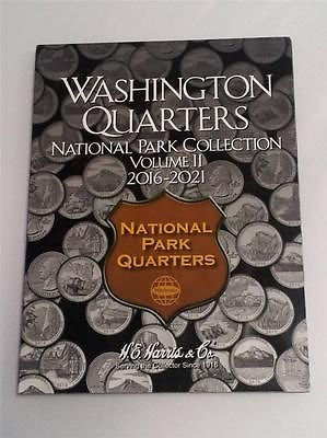 H.E. Harris National Park Quarter Folder 2016 - 2021 Coin Storage Album Vol 2