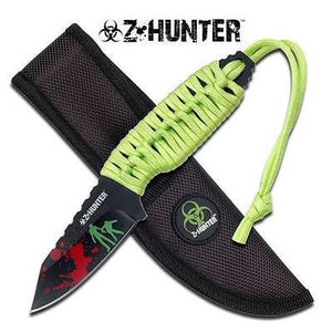 "Z Hunter Zombie 7"" Survival Fixed Knife - 022"