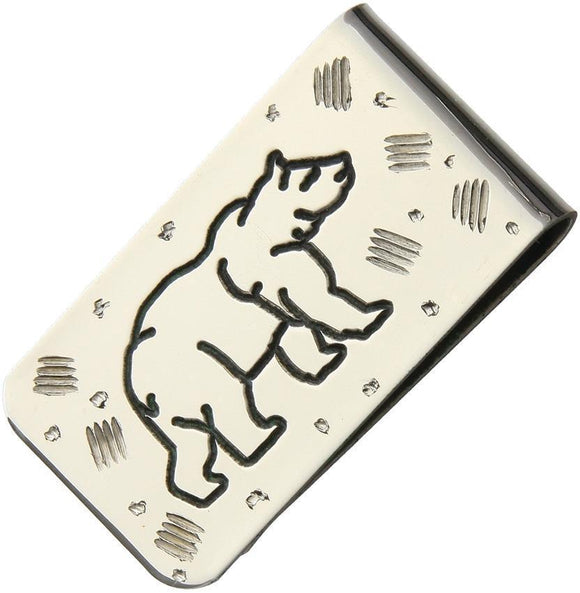 Brian Yellowhorse Custom Money Clip Bear