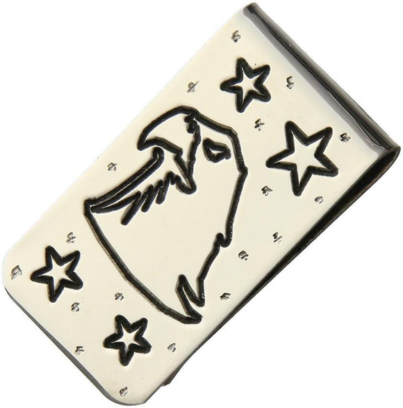 Brian Yellowhorse Custom Money Clip Bald Eagle
