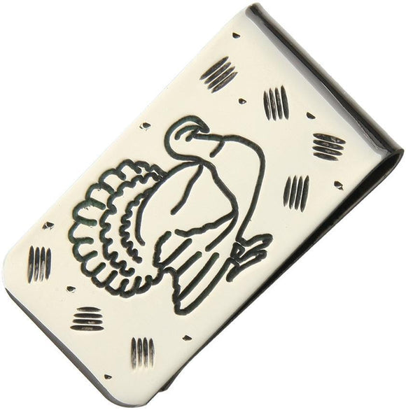 Brian Yellowhorse Custom Money Clip Turkey