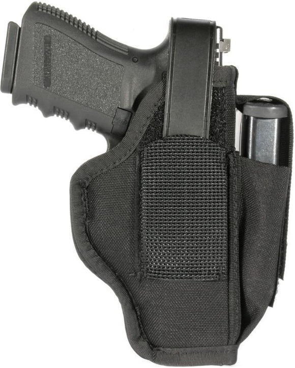 Blackhawk Multi-Use Heavy Nylon Holster 05 Black Belt Firearm Holder 40AM05BK