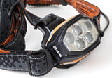 5.11 Tactical Search & Rescue Series H6 CREE XP-G2 LEDs & Flood Light LEDs Elastic Strap Headlamp