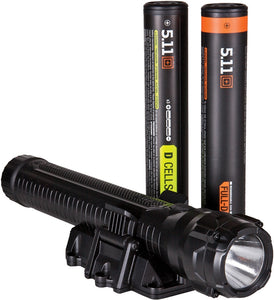 5.11 Tactical TPT R7 Recharageable Batttery Professional Black Body CREE LED Flashlight