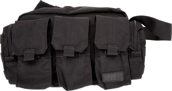 5.11 Tactical Black Nylon Easy Carry & Deploy Bail Out Bag