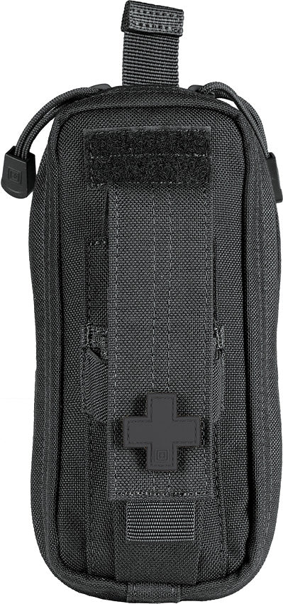 5.11 Tactical Black Medical Cross Front Zipper Easy Organize Supplies Travel Med Kit