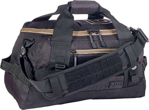 5.11 Tactical NBT Mike Grab-and-Go 27L Capacity Travel Storage Black Duffel Bag