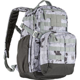 5.11 Tactical Mira 2 in 1 Gray Camo Outdoor Survival Hiking & Camping Backpack Crossbody Bag