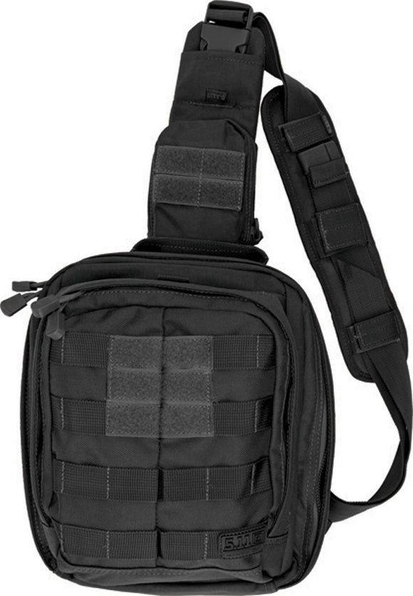 5.11 Tactical MOAB 6- Mobile Operation Attachment Bag Black with Shoulder Strap