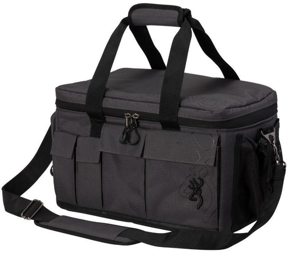 Browning Range Pro Rugged Heavy Duty Charcoal Travel Outdoor Bag