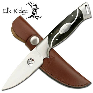 "Elk Ridge Tom Anderson Europa 8"" Hunting Knife W/ Black Wood Handle TA32"