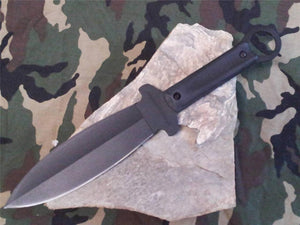 Cold Steel Shanghai Shadow Double Edge Fighting Knife w/Sheath - 80PSSK