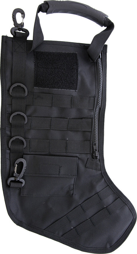 Tactical Holiday or Christmas Stocking Black - 200
