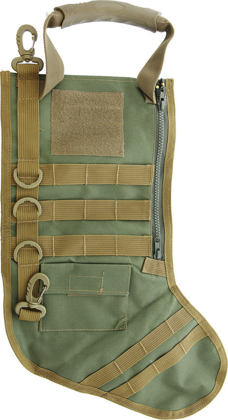 Tactical Holiday or Christmas Stocking OD Green - 201