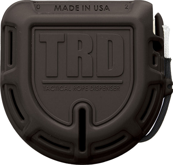 Atwood Rope MFG Tactical Rope Dispenser TRD Black W/ Paracord
