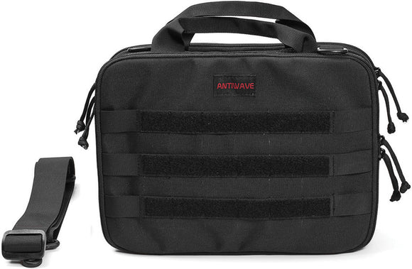 ANTIWAVE Chameleon Invincible Black Concealed Pistol Carry Tactical Bag ST002