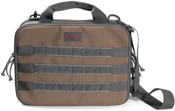 ANTIWAVE Chameleon Invincible Desert Tan & Black Concealed Pistol Carry Tactical Bag ST003