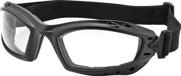 Bobster Bala Goggles Black Motorcycle Driving Anti-Fog Lenses Sunglasses