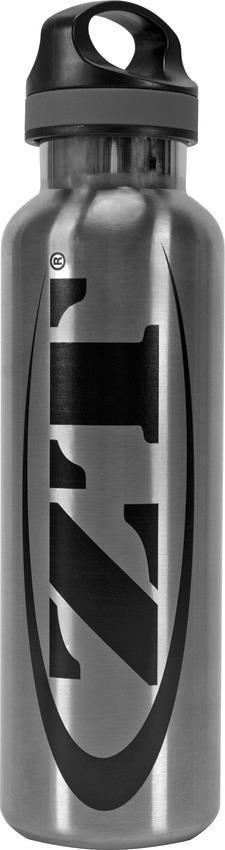 Zero Tolerance Black Logo Stainless Steel Insulated 20oz. ZT Water Bottle