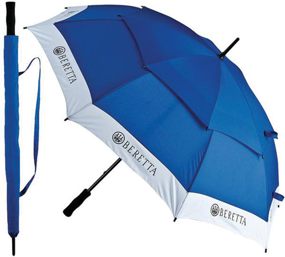 Beretta Blue/White Competition Umbrella w/ Carrying Case 16916