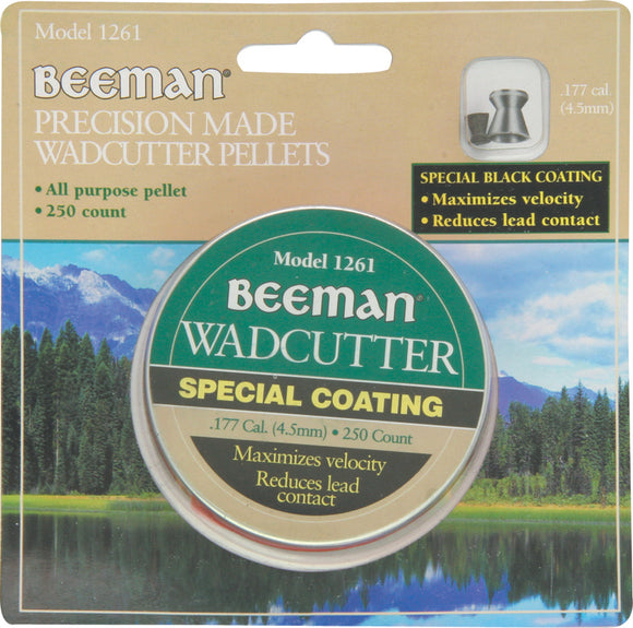 Beeman Maximize Velocity Black 250pc Wadcutter All Purpose Rifle Pellets 1261