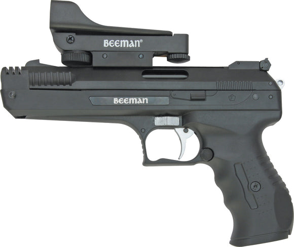 Beeman Deluxe .177 Caliber Pellet Very Quiet Recoiless Black Air Pistol 2006