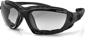 Bobster Renegade Motorcycle Black Sunglasses Goggle 100% UV Protection