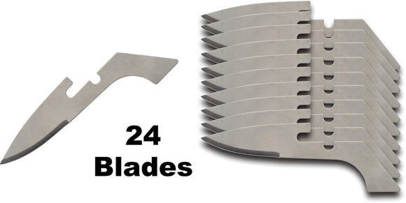 Browning 24pc Speed Load Knife Curved Replacement Blades 0113C