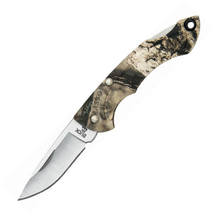 BUCK Knives Nano Bantam Folding Lockback Mossy Oak Country Camo Knife 283CMS24