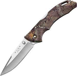 BUCK Knives Bantam BLW Real Tree Xtra Camo Folding Lockback Blade Knife 285CMS18